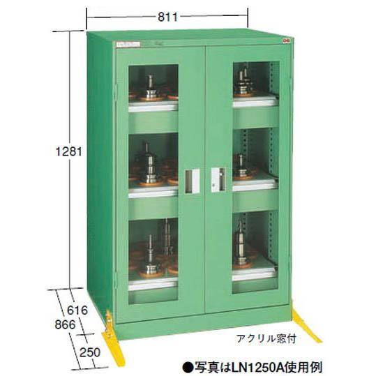 OS(大阪製罐):ツーリングロッカー(NT・BT用) LN1200型 アクリル扉 LN1250A