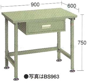 OS(大阪製罐):軽量作業台 BS963
