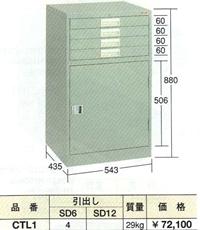 OS(大阪製罐):コンビケース CTL1