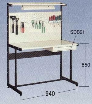 【代引不可】OS(大阪製罐):ラインテーブル 定置型 N型 LTH91N