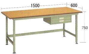 非常に高い品質 OS(大阪製罐):中量作業台 NBW1565:イチネンネット-DIY・工具