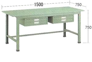 【代引不可】OS(大阪製罐):軽量作業台 WKS1576