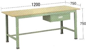 日本人気超絶の OS(大阪製罐):軽量作業台 WKW1273:イチネンネット-DIY・工具