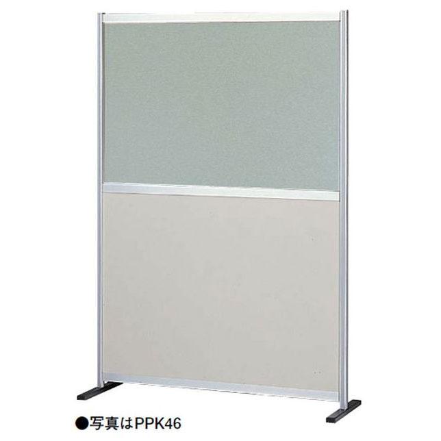 OS(大阪製罐):衝立 ポリ合板+半透明窓(パーテーション) PP型 コーナー増連 PPK45CO