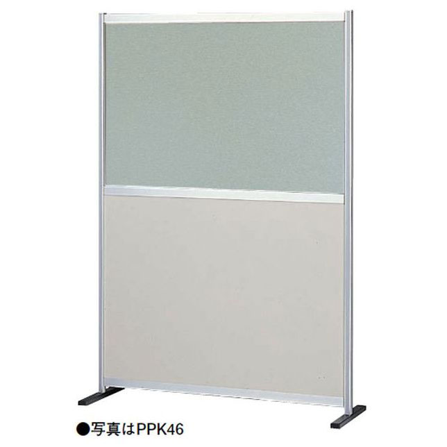 【代引不可】OS(大阪製罐):衝立 ポリ合板+半透明窓(パーテーション) PP型 コーナー増連 PPK46CO