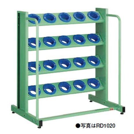 【代引不可】OS(大阪製罐):ツーリングタワー 定置型(HSK・NC5用) 4段 RD1020