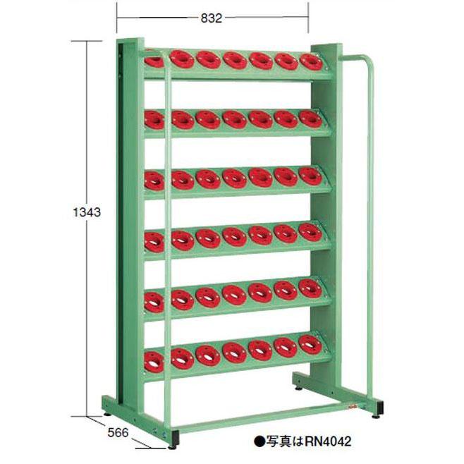 【代引不可】OS(大阪製罐):ツーリングタワー 定置型(NT・BT用) 6段 RN4042