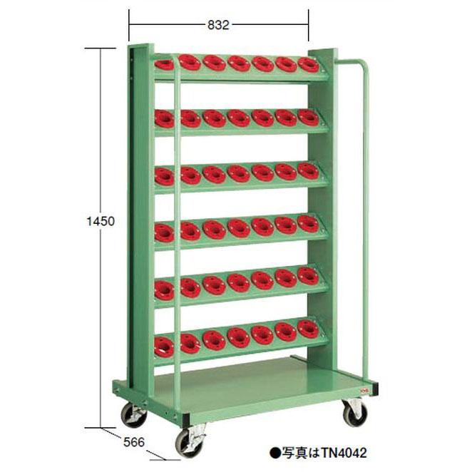 【代引不可】OS(大阪製罐):ツーリングタワー 移動型(NT・BT用) 6段 TN4042