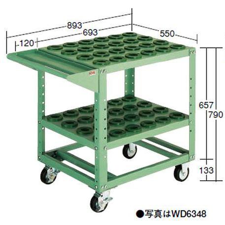 【代引不可】OS(大阪製罐):ツーリングワゴン(HSK・NC5用) WD4060