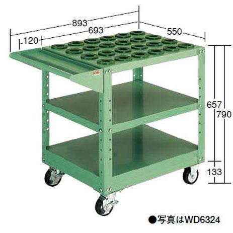 【代引不可】OS(大阪製罐):ツーリングワゴン(HSK・NC5用) WD6324