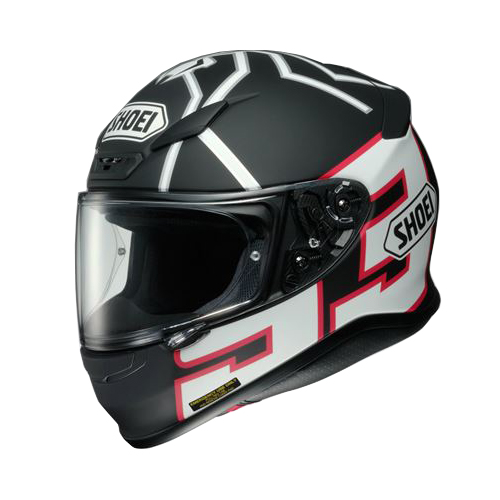 SHOEI(ショウエイ):Z-7 MARQUEZ BLACKANT TC-5 BLACK/WHITE M