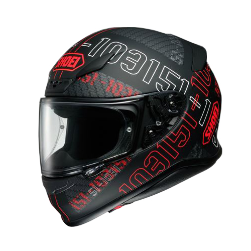 SHOEI(ショウエイ):Z-7 PERMUTATION TC-1 RED/BLACK M