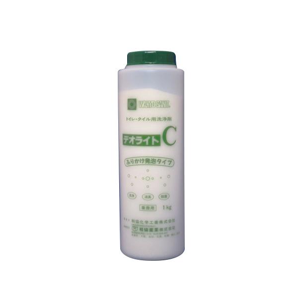 【代引不可】和協産業:トイレ用タイル洗浄剤 デオライトC 1kg×15本