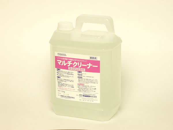 【代引不可】【法人限定】和協産業:油汚れ専用洗浄剤 マルチクリーナー 5kg×4個