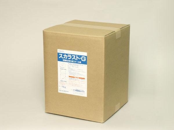 【代引不可】和協産業:空調用洗浄剤・保守剤 スカラストG 5kg×3