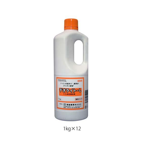 【代引不可】和協産業:尿石除去剤 デオライトL 1kg×12