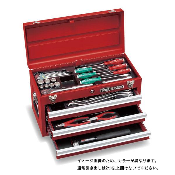 工具を厳選し、産業機械の整備に適した12.7sq.エントリーセット 4953488303858 TONE(トネ):ツールセット(メンテナンス用) マットブラック 差込角12.7mm 37点 TSS452BK