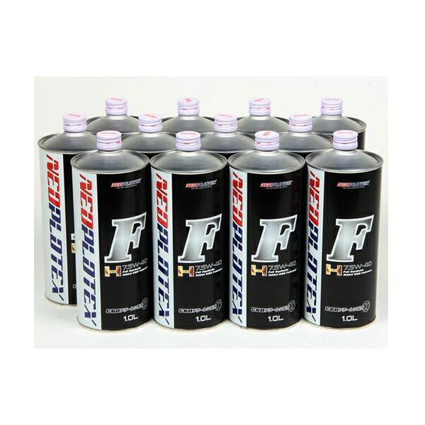 【代引不可】ネオプロテックス Fエンジンオイル H 7.5W-40 12Lパック(1L缶×12) NTXF1210-12