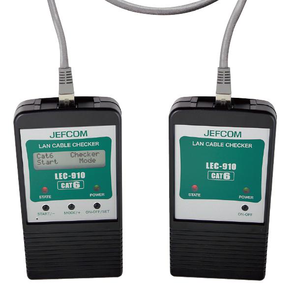 JEFCOM(ジェフコム):LANケーブルチェッカー LEC-910