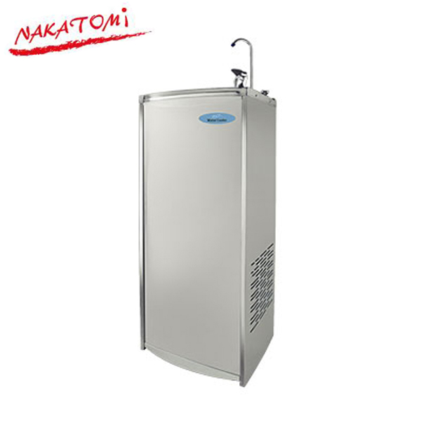 【法人限定】ナカトミ:床置形ウォータークーラー(冷水専用)NWC-F30C 業務用 工場用 学校 熱中症 公共施設