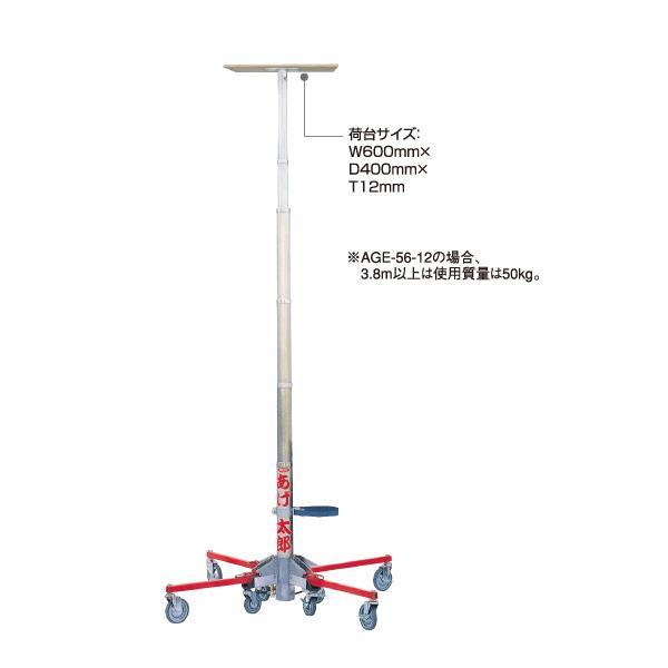長谷川工業:荷揚機 あげ太郎 AGE-415-09 31645