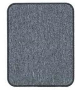 永大化工:イナスクイックDX 車内用フロアマット Mサイズ グレー EQ-11(30個セット)