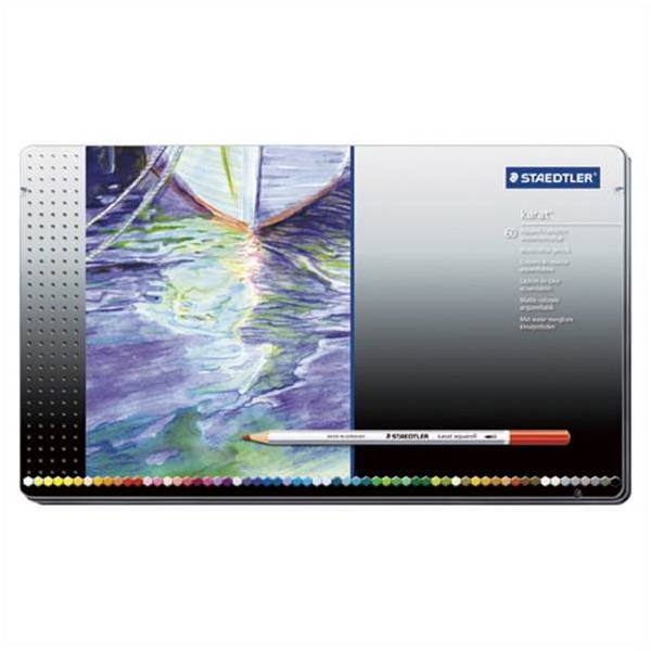 ステッドラー:カラトアクェレル水彩色鉛筆 1セット 125 M60 68734