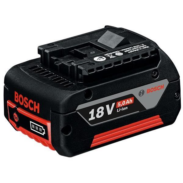 ボッシュ:リチウムイオンバッテリー 18V・5.0AH A1850LIB 000555041850