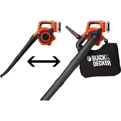 BLACK & DECKER:36V ガーデンブロワーバキューム GWC36