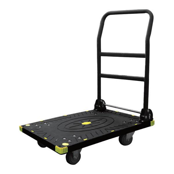 アイガーツール:静音カラー台車ワイド ブラック 300kg 900-L3