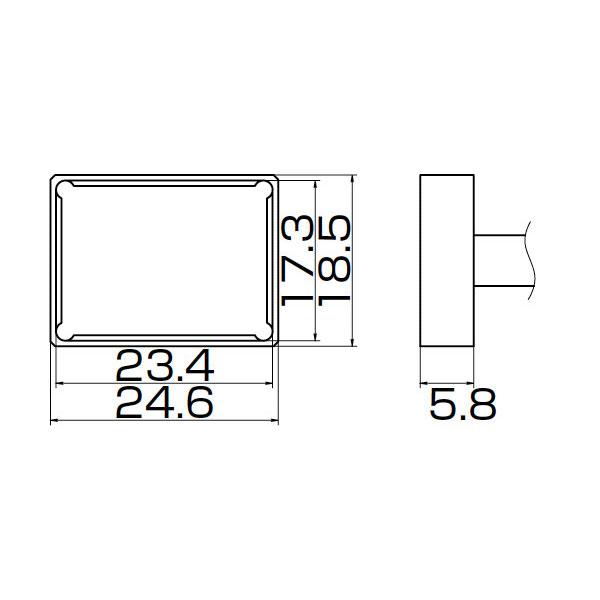 白光:こて先 PLCC23.4X17.3 T12-1205 000056087179