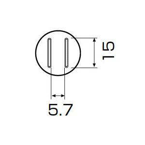 白光:ノズル SOP 5.6MM X 13MM A1132 000056252019