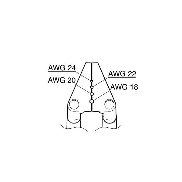 白光:ベント型ブレード AWG18-24用 G2-1602 000056304702