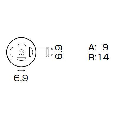 白光:ノズル PLCC 7.3X12.5MM A1139B 000056801139