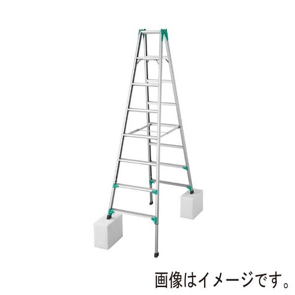 長谷川工業:アルミ専用脚立脚部伸縮式 RYZ1.0-30 工場 現場 踏み台 施工道具 建築 梯子