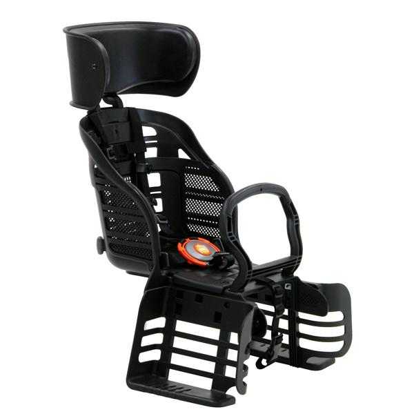 OGK(オージーケー):ヘッドレスト付 リア用 ブラック RBC-007DX3