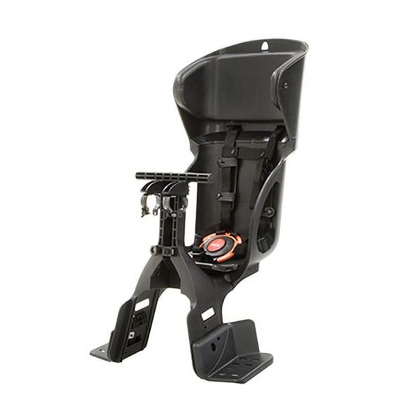 OGK(オージーケー):ヘッドレスト付カジュアル前子供乗せ 黒/黒 FBC-015DX