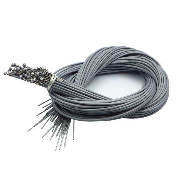 アサヒサイクル:ブレーキワイヤー(ライナー入) バラx50本 グレー 1560-1710mm 06013/B3G03