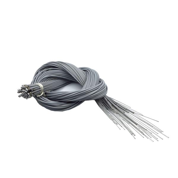 アサヒサイクル:ブレーキワイヤー(ライナー入) バラx50本 グレー 2000-2200mm 06099/B3G04