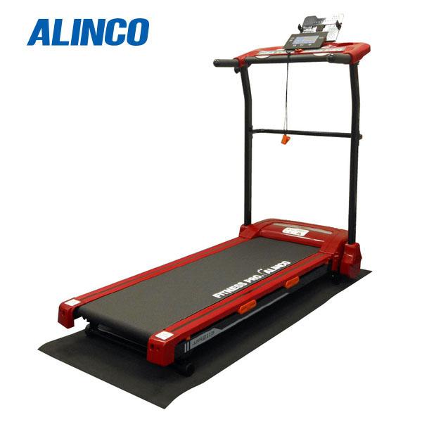 【代引不可】【訳ありアウトレット品】ALINCO(アルインコ):ランニングマシン2115 レッド AFR2115R