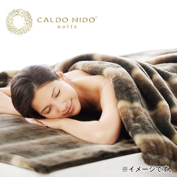 【代引不可】ディーブレス:カルドニード 発熱掛け毛布 ダブル CN-K03W