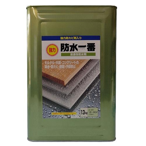 日本特殊塗料:強力防水一番 13kg クリヤー