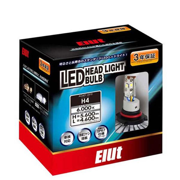 Elut:LED ヘッドライトバルブ H4 AG601-LB10