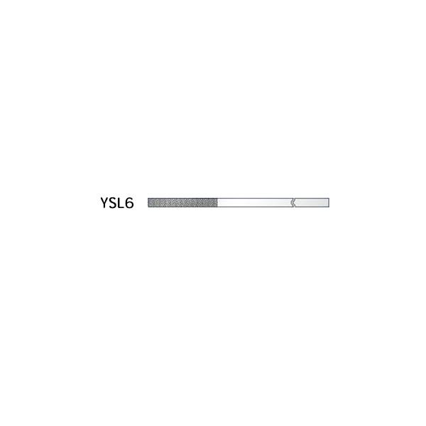 AXEL(アクセル):ダイヤモンドヤスリ 精密平テーパー YSL6-1.5