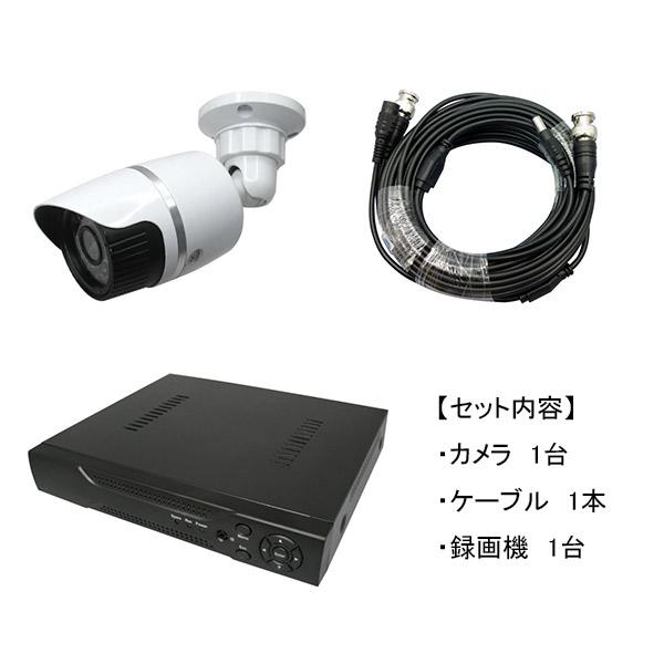 Broadwatch(ブロードウォッチ):屋外型赤外線130万画素カメラ1台録画機セット SEC-MS-1A-C36M