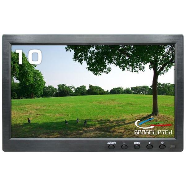 Broadwatch(ブロードウォッチ):10.1INCH HDMI LCDモニター AC100V電源付 (HDMI,VGA,BNC,AV) SEC-LCD-10HINCH