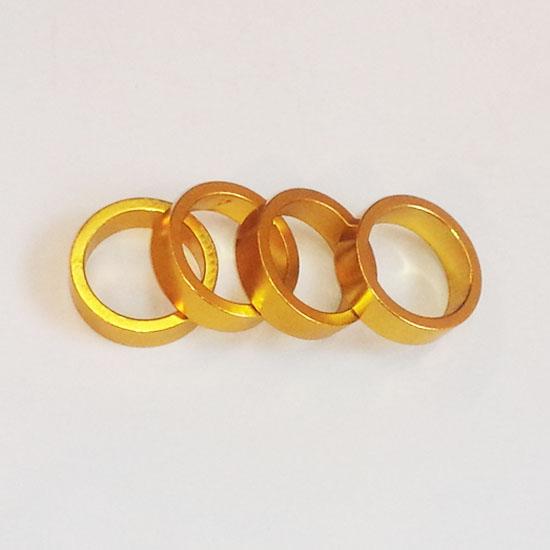 【後払い不可】【代引不可】POSTINO:スペーサー(バラ) ゴールド
