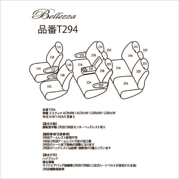 BELLEZZA(ベレッツァ):Wild Stitch ワイルドステッチ シートカバー (ブラック×ホワイト)