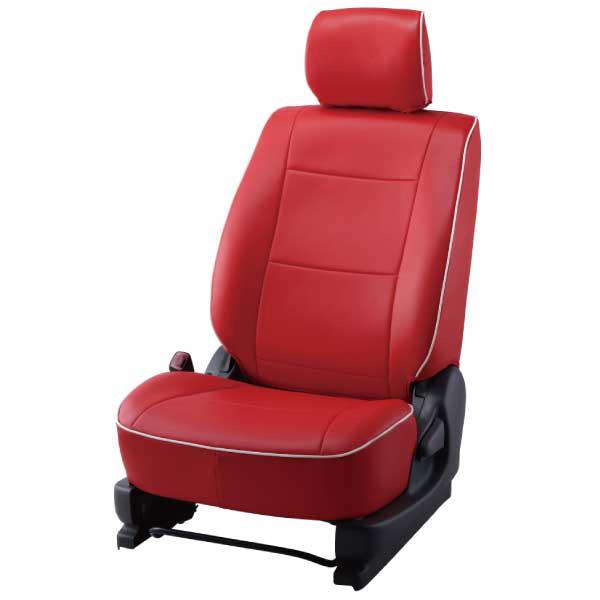 BELLEZZA ベレッツァ 車種専用 シートカバー 4580562874067 BELLEZZA(ベレッツァ):Basicα ベーシックアルファ シートカバー (レッド×ホワイト) BECAT335R3