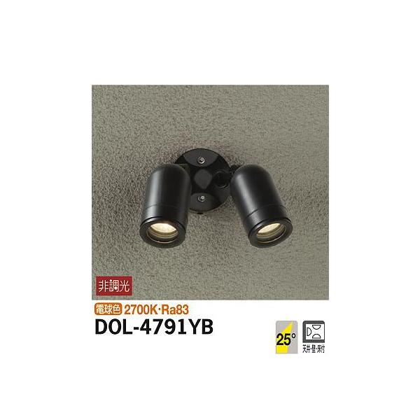 【代引不可】大光電機:アウトドアスポット DOL-4791YB